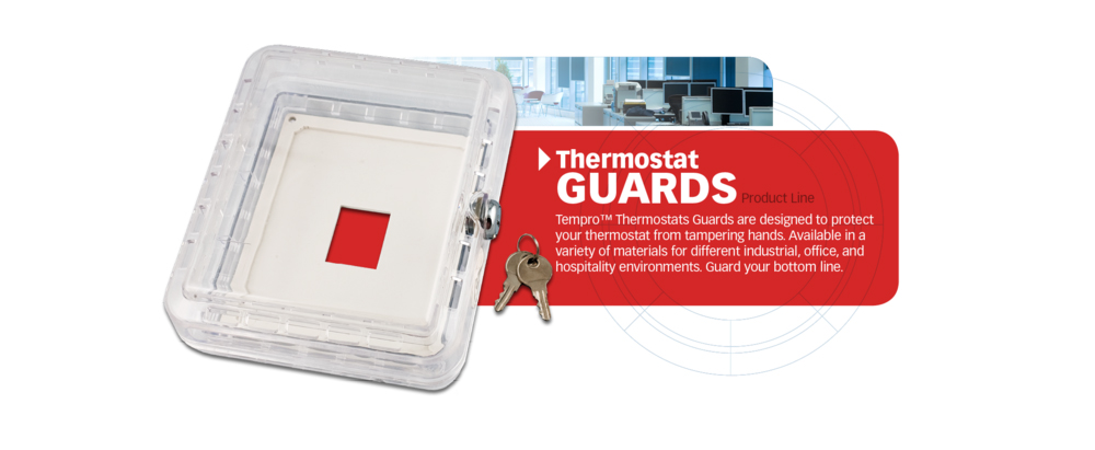 <p>Tempro thermostat guards are designed to protect your thermostat from tampering hands. Available in a variety of materials for different industrial, office and hospitality environments. Guard your bottom line.</p>