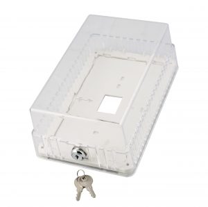 Large Clear Thermostat Guard