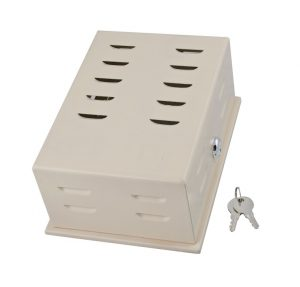 Small Steel Thermostat Guard