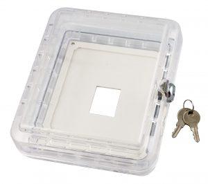 Large Tamper Resistant Thermostat Guard