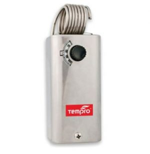 Tempro line voltage thermostat